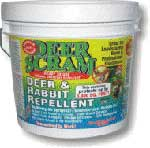Single 6 lb. Bucket of Deer Scram Deer Scram, Deer Repellent, Rabbit Repellent, granular repellent, get rid of deer